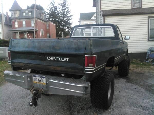 Chevrolet K20 1985 K2085C33
